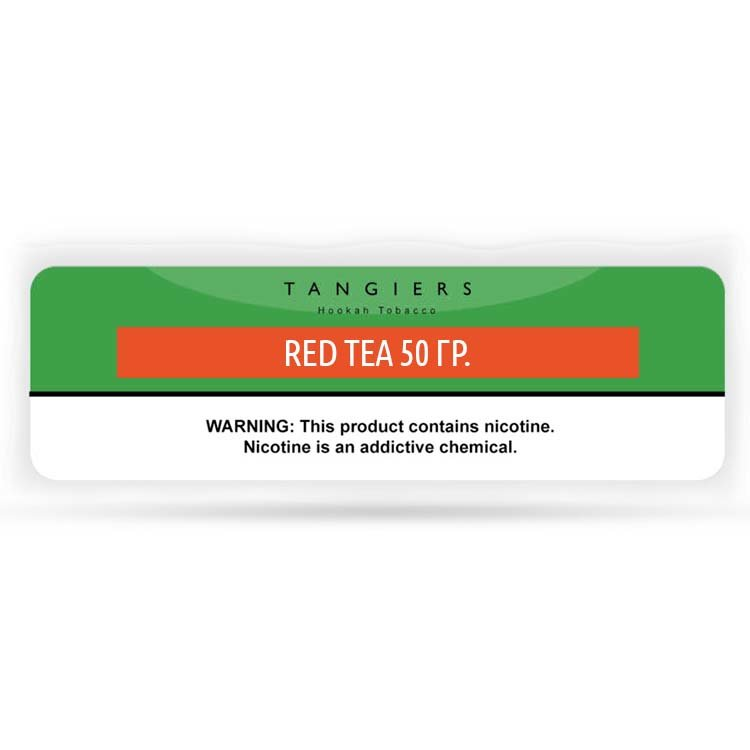 Табак для кальяна Tangiers 50 гр -71- Red Tea (Noir)