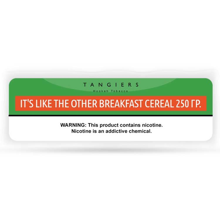 Табак Tangiers 250 гр -100- It's Like the other Breakfast Cereal