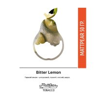 Табак Mattpear Bitter Lemon 50 гр (Лимон)